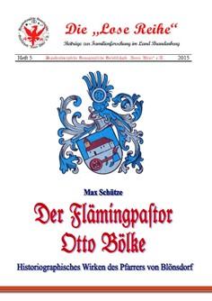 Der Flämingpastor Otto Bölke